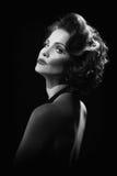 Concepto de la alta manera con una mujer hermosa Imagenes de archivo