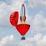 Concepto de la ambición Imagen de archivo libre de regalías