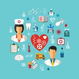 Concepto de la atención sanitaria del vector libre illustration