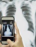 Concepto de la atención sanitaria y de la tecnología Imagenes de archivo