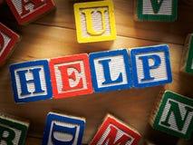 Concepto de la ayuda Foto de archivo