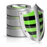 Concepto de la base de datos de la seguridad Imagen de archivo libre de regalías
