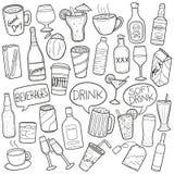 Concepto de la bebida libre illustration