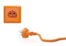 Concepto de la calabaza de Halloween Imagen de archivo