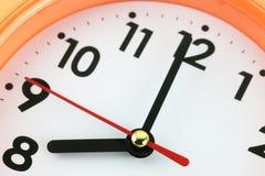 Concepto de la cara de reloj a tiempo Imagen de archivo libre de regalías