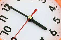 Concepto de la cara de reloj a tiempo Fotos de archivo libres de regalías