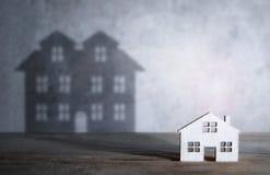 Concepto de la casa ideal en venta foto de archivo libre de regalías