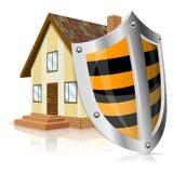 Concepto de la casa segura Fotos de archivo