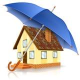 Concepto de la casa segura Foto de archivo libre de regalías