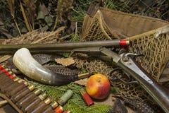 Concepto de la caza Foto de archivo libre de regalías