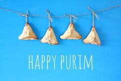 Concepto de la celebración de Purim y x28; holiday& judío x29 del carnaval; Foto de archivo