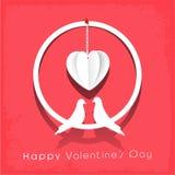 Concepto de la celebración del día de tarjeta del día de San Valentín Fotos de archivo libres de regalías