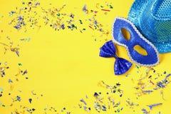 concepto de la celebración del partido del carnaval Fotografía de archivo libre de regalías