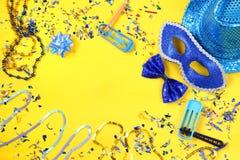 concepto de la celebración del partido del carnaval Imagenes de archivo
