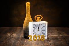 Concepto de la celebración del ` s Eve del Año Nuevo Fotos de archivo