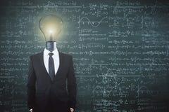 Concepto de la ciencia y de la idea Fotografía de archivo libre de regalías