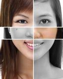 Concepto de la cirugía plástica fotografía de archivo