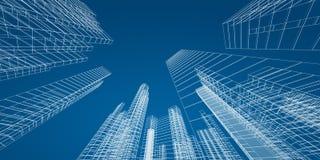Concepto de la ciudad ilustración del vector