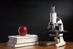 Concepto de la clase de Biología Imagen de archivo