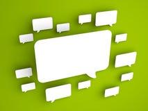 Concepto de la comunicación Imagen de archivo