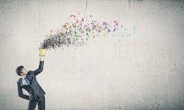 Concepto de la comunicación Imagen de archivo libre de regalías