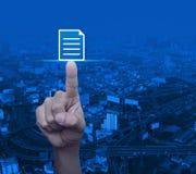 Concepto de la comunicación empresarial Fotografía de archivo libre de regalías
