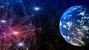 Concepto de la comunicación de la red global imagen de archivo libre de regalías