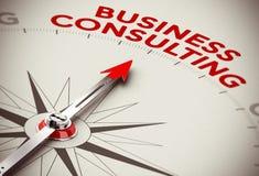 Concepto de la consultoría de negocios Imágenes de archivo libres de regalías
