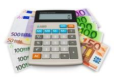 Concepto de la contabilidad financiera Foto de archivo libre de regalías