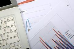 Concepto de la contabilidad financiera Fotos de archivo