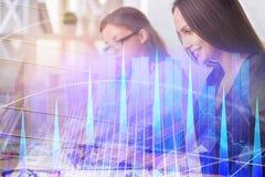 Concepto de la contabilidad y del trabajo en equipo imagen de archivo