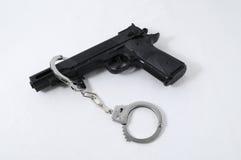 Concepto de la criminalidad fotografía de archivo libre de regalías