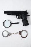 Concepto de la criminalidad foto de archivo libre de regalías