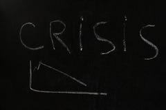Concepto de la crisis Fotos de archivo libres de regalías