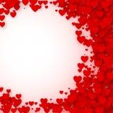 Concepto de la cubierta de la tarjeta del día de tarjetas del día de San Valentín Fondo del vector Fotografía de archivo libre de regalías