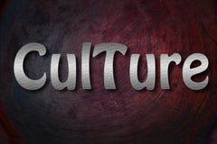 Concepto de la cultura Foto de archivo