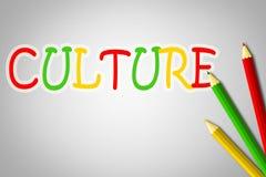 Concepto de la cultura ilustración del vector
