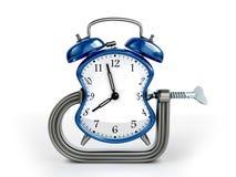 Concepto de la deformación de tiempo Foto de archivo