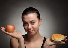 Concepto de la dieta Foto de archivo libre de regalías