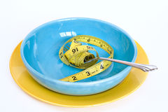Concepto de la dieta Fotos de archivo