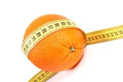 Concepto de la dieta de la fruta Imagenes de archivo