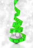 Concepto de la dieta de la Navidad Imagenes de archivo