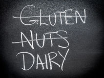 Concepto de la dieta y de la nutrición Imagen de archivo libre de regalías