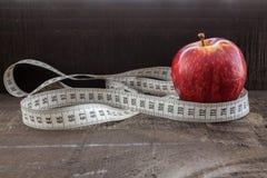 Concepto de la dieta y de la salud Fotografía de archivo