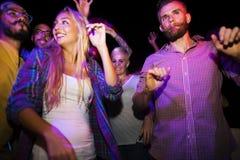 Concepto de la diversión de la felicidad del ocio del partido de la amistad Fotografía de archivo