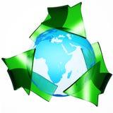 Concepto de la ecología Imagen de archivo libre de regalías