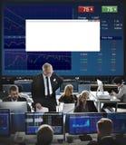 Concepto de la economía del negocio del mercado de acciones de la inversión Fotos de archivo