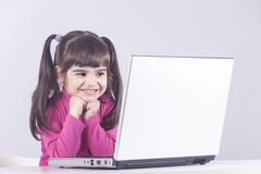 Concepto de la educación, de la tecnología y del aprendizaje electrónico Fotos de archivo libres de regalías