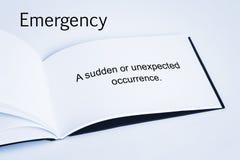 concepto de la emergencia fotos de archivo libres de regalías