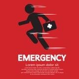 Concepto de la emergencia Foto de archivo